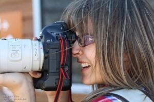 Shooting with a Canon EOS1 camera