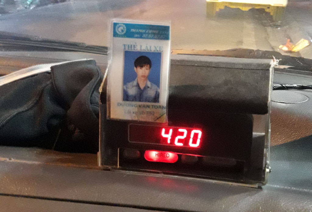 A fake Taxi Meter